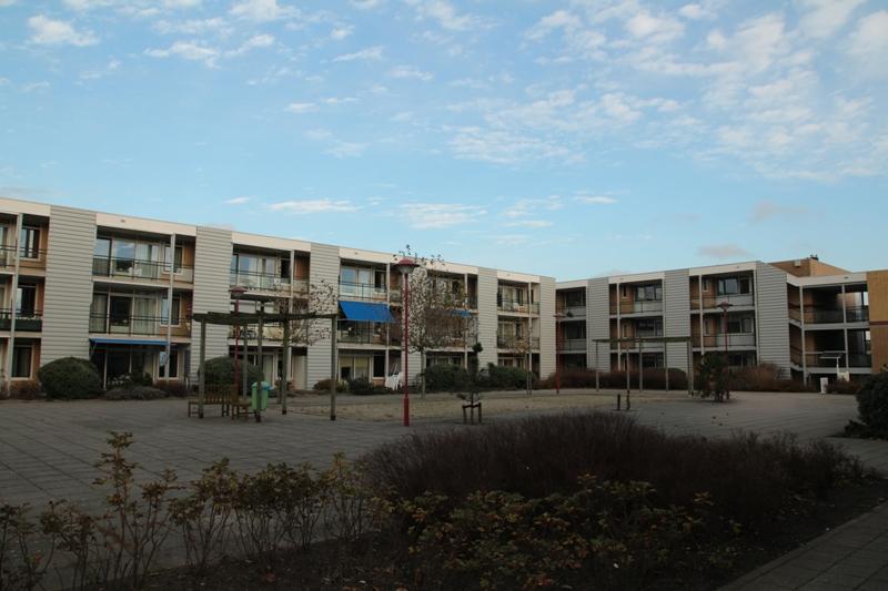Renovatie gevels zorgcentrum te noordwijk