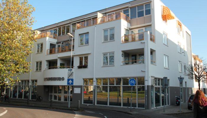 Renovatie gevel de Zocherstraat te Haarlem