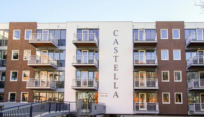 Renovatie 124 appartementen Castella