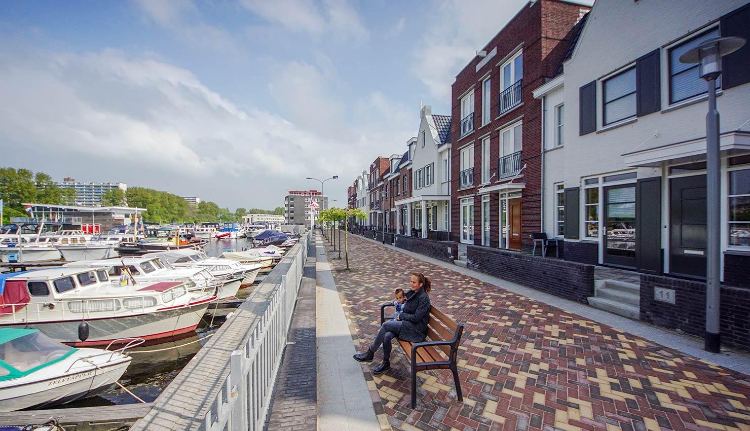 Havenkwartier in Katwijk