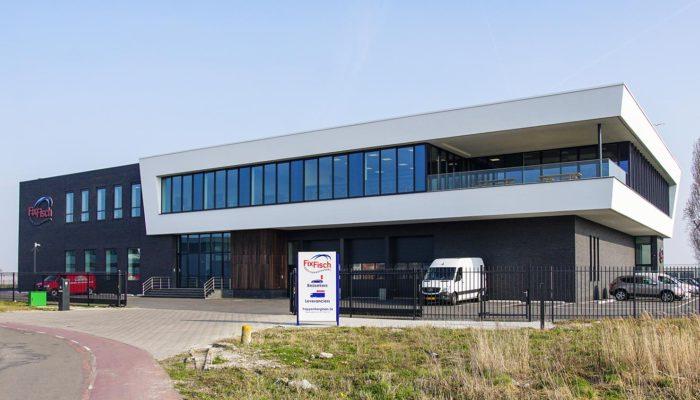 Nieuw pand visgroothandel Fix Fisch Katwijk
