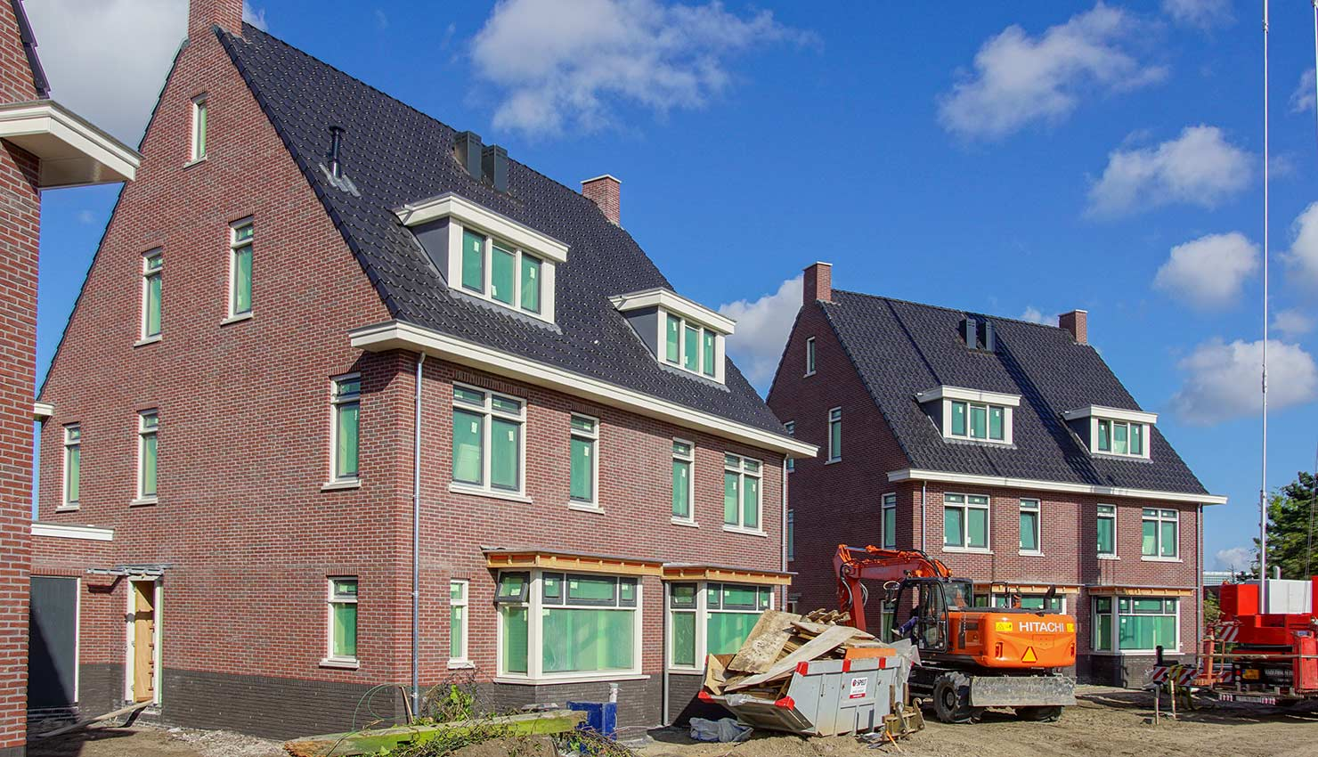 6 woningen Beeckzijde Hillegom