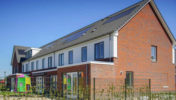 Nieuwbouwwijk in Roelofarendsveen